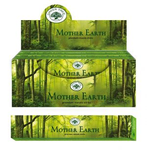 Green Tree Incense Mother Earth (12 packages)