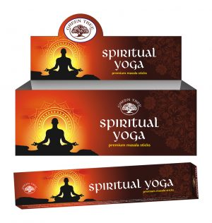 Green Tree Incense Spiritual Yoga (12 packs)
