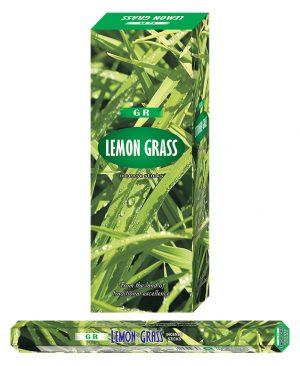 G.R. Incense Lemongrass (6 packages)