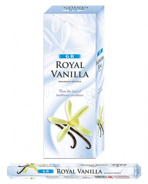 G.R. Incense Royal Vanilla (6 packages)