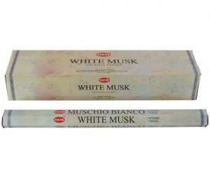 HEM Incense White Musk (Extra Long - 6 packs)