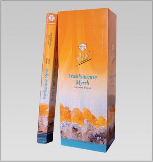 Flute Incense Frankincense (6 packets)