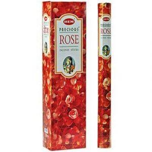 HEM Incense Precious Rose (Extra Long - 6 packets)