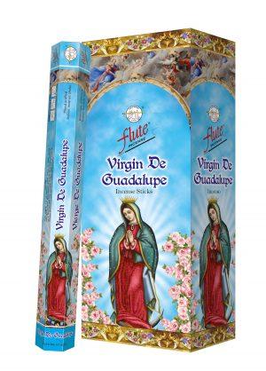 Flute Incense Virgin De Guadalupe (6 packets)