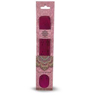 Green Tree Wooden Incense holder Pink
