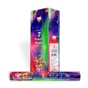 Darshan Incense 7 Powers Hindu (6 packets)