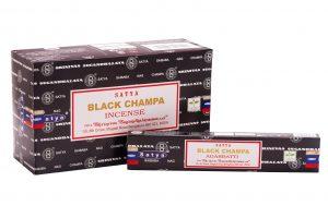 Satya Incense Black Champa