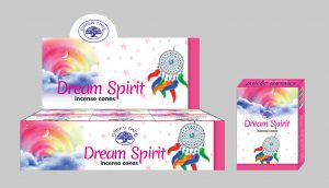 Green Tree Incense Cone Dream Spirit (12 packets)