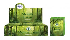 Green Tree Incense Cone Mother Earth (12 packets)