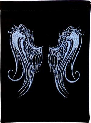 Velvet Bag  - Angel wings