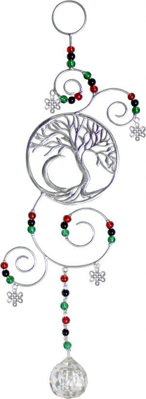 Hanging Crystal - Tree of Life