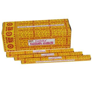 Goloka Incense Nag Champa (12 packets)