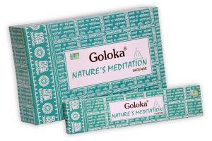 Goloka Incense Natures Meditation (12 packs)