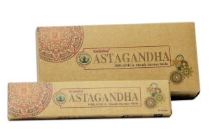 Goloka Incense Organica Astagandha (6 packages)