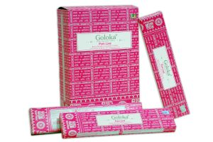 Goloka Incense Pure Love (12 packs)