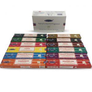 Satya Incense Range 12 Species (12 packs)