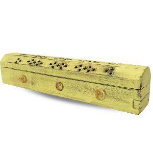Incense box - Incense burner - Yellow