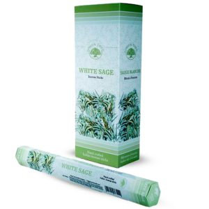 Green Tree Incense White Sage (6 packets)