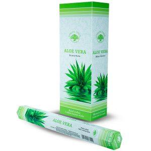 Green Tree Incense Aloe Vera (6 packets)