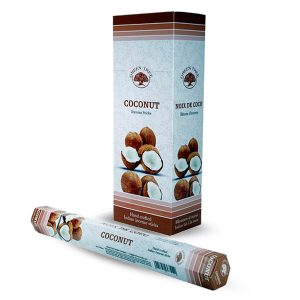 Green Tree Incense Coconut (6 packets)