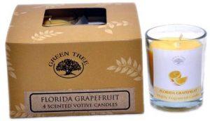 Fragrance candle motif Florida Grapefruit