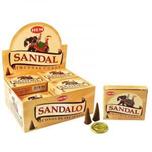 HEM Incense Cone Sandalo (12 packs)
