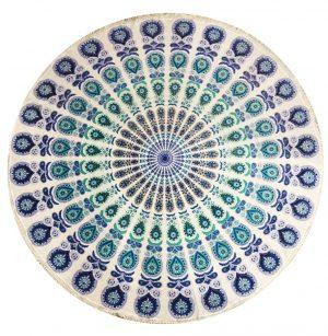 Round Cotton Wall Dress - Mandala