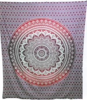 Cotton Rollcloth - Lotus - Mandala - Pink