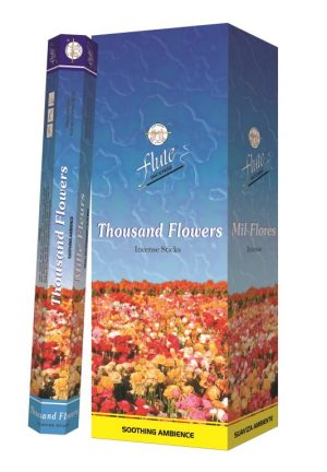 Flute Incense Thousand Flowers (6 packs)