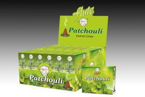 Flute Incense Cone Patchouli (6 packets)