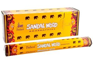 Tulasi Incense Sandalwood (6 packs)