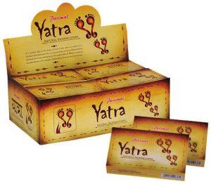 Yatra Incense Cone Natural (12 packs with 10 cones)