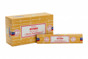Satya Incense Myrrh (12 packages)
