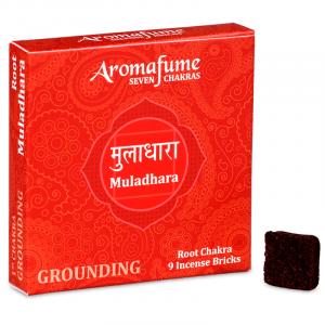Aromafume Incense cubes Muladhara - Base Chakra