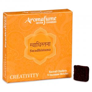 Aromafume Incense cubes Swadhishtana - Sacral Chakra
