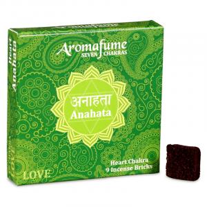 Aromafume Incense cubes Anahata - Heart Chakra