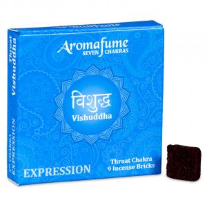 Aromafume Incense cubes Vishudda - Throat Chakra