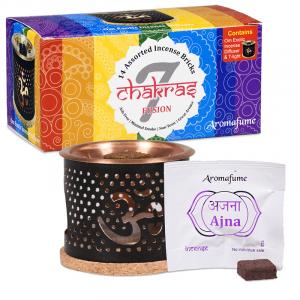 Aromafume Incense cubes 7 Chakra (Tryset)
