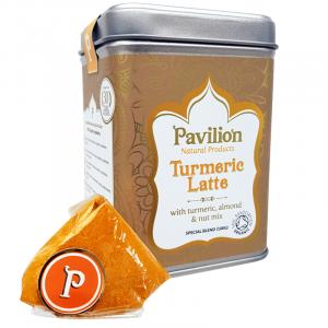Pavilion Ayurvedic Turmeric Latte Almond nut
