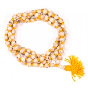 Mala Tulsi Rosary - Japa Mala (Basil) - 108 beads of 0.7 cm