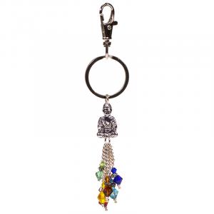 Keychain Chakra Buddha