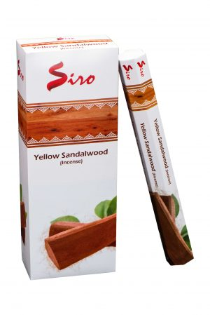 Siro Incense Yellow Sandalwood (6 packages)