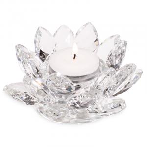 Atmospheric light Lotus Crystal glass
