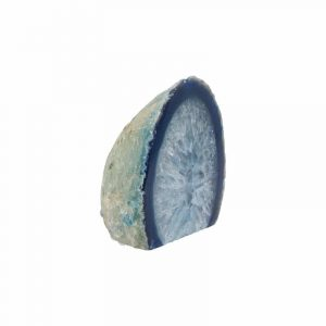 Agate Endpieces Blue