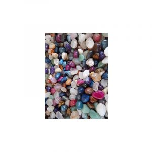 Drumstones Agate Mix Coloured (10-20 mm) - 100 grams