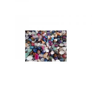 Drumstones Agate Mix Coloured (10-20 mm)