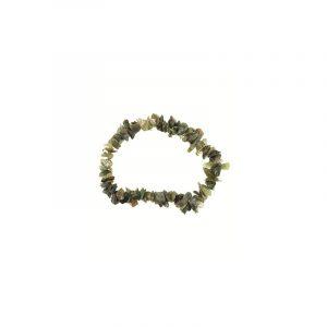 Split Bracelet Agate Moss