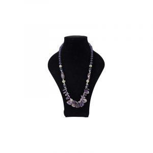 Gemstones Necklace Amethyst Neo