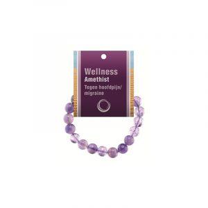 Powerbead Bracelet Amethyst (With Display Card)