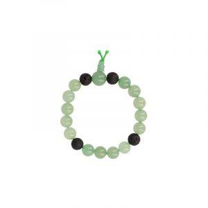 Powerbead Men Bracelet Aventurine Green (Model 1)